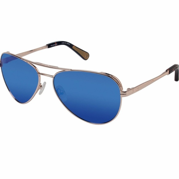 Sperry Other - 🎉HP🎉SPERRY Largo Polarized Gold Blue Sunglasses